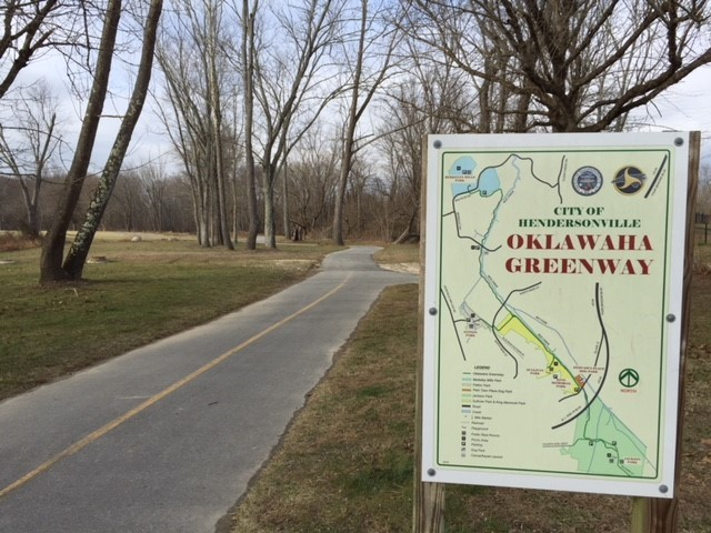 Oklawaha greenway sign