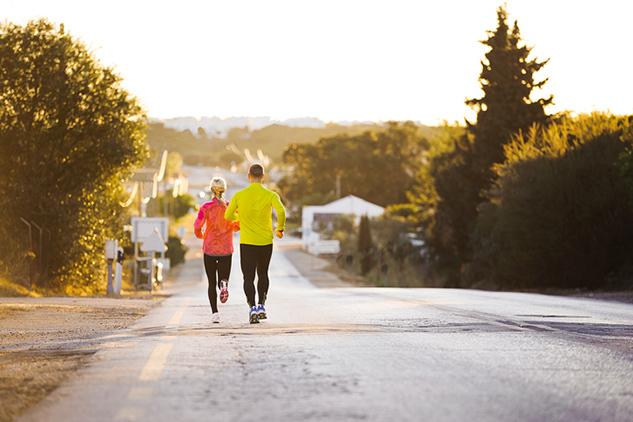 Running-downhill