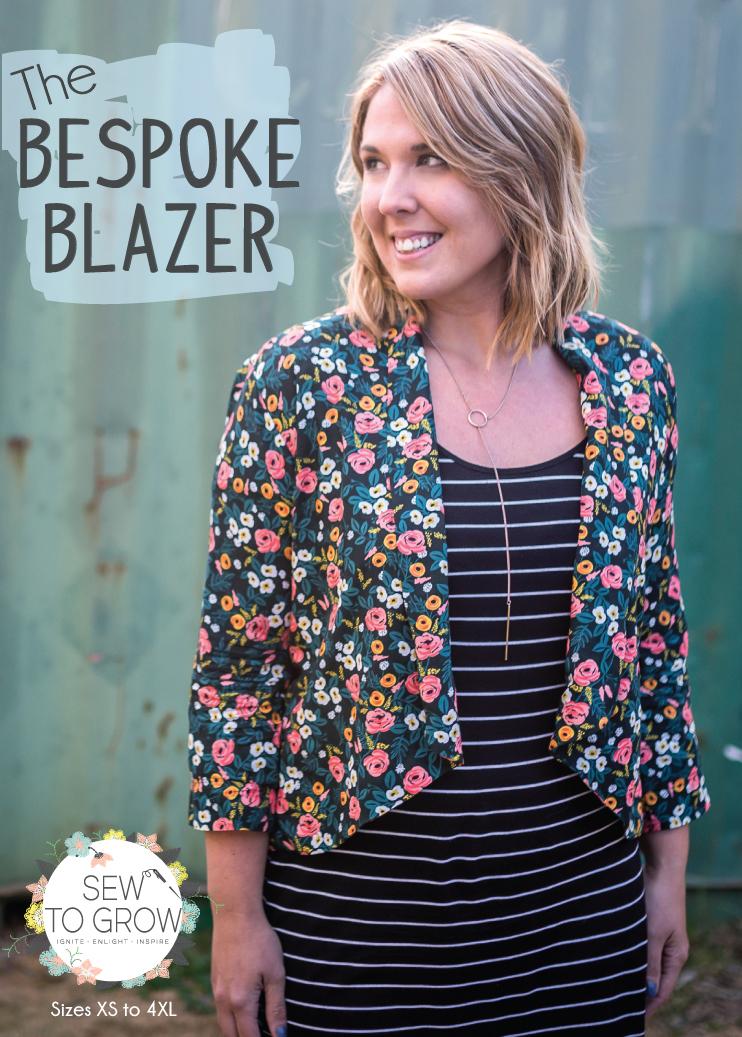 sew to grow  bestoke blazer sewing pattern