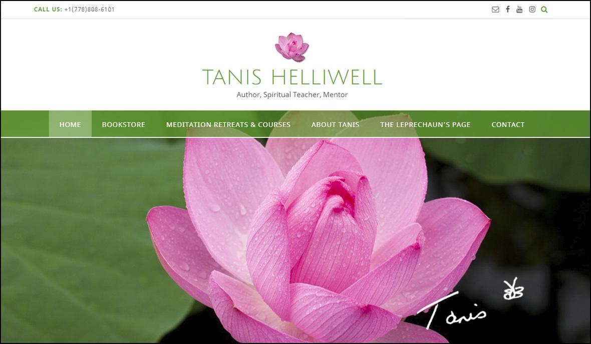 THC-website screenshot