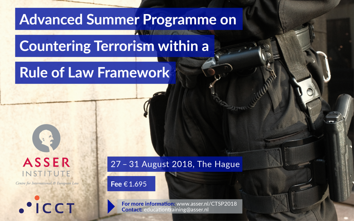 Advanced Summer Programme on Countering Terrorism