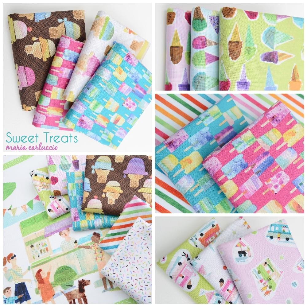 Sweet Treats Fabric Poster Fotor