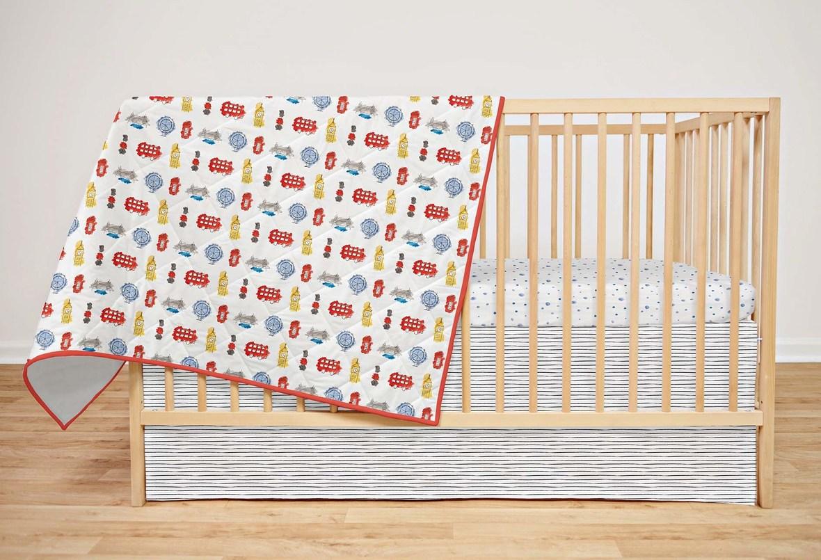 London Icons Crib Set