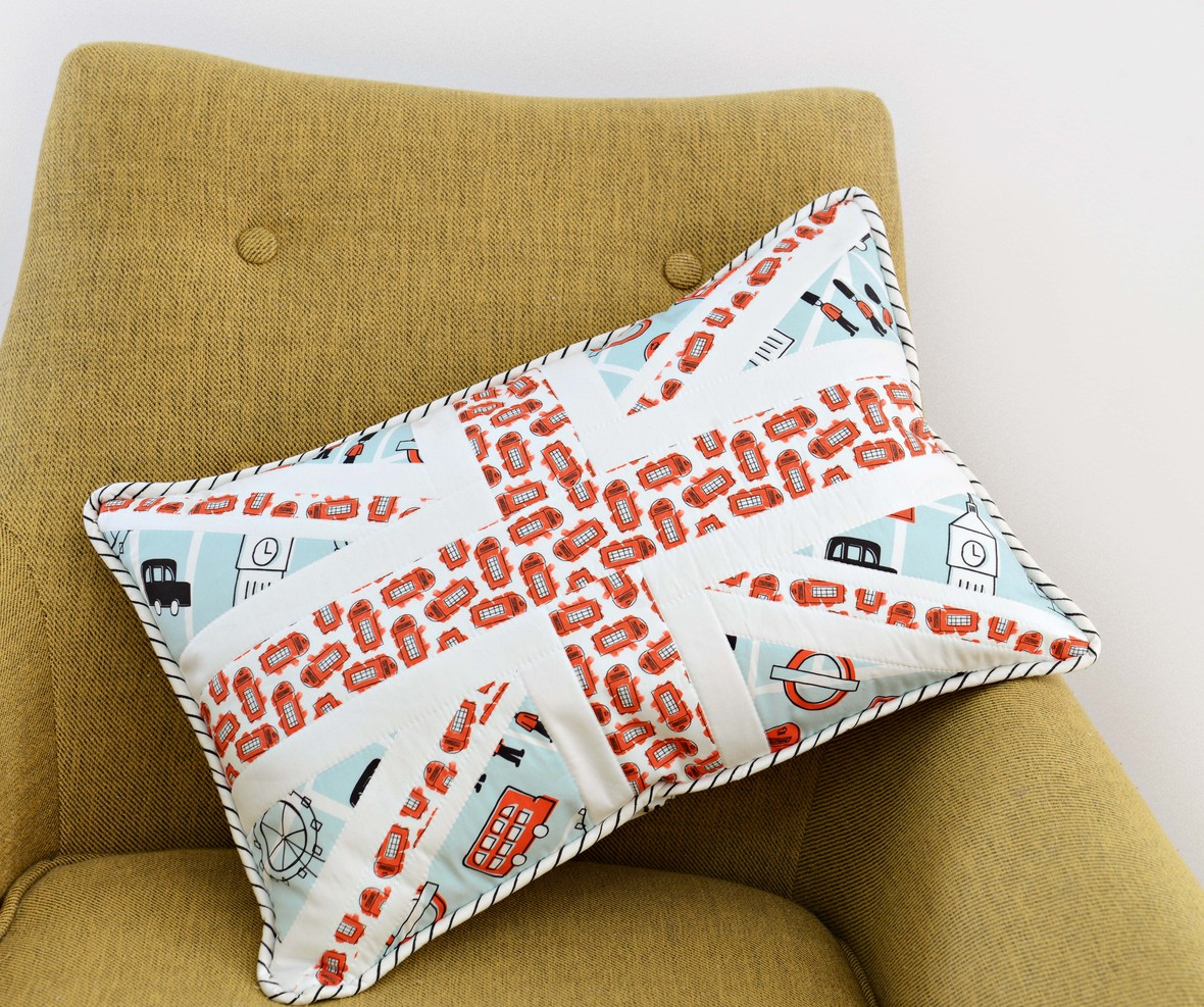 London Icons Union Jack Pillow