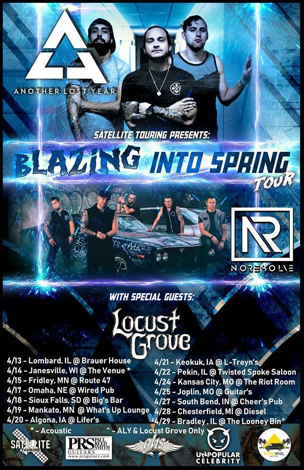 ALY spring tour