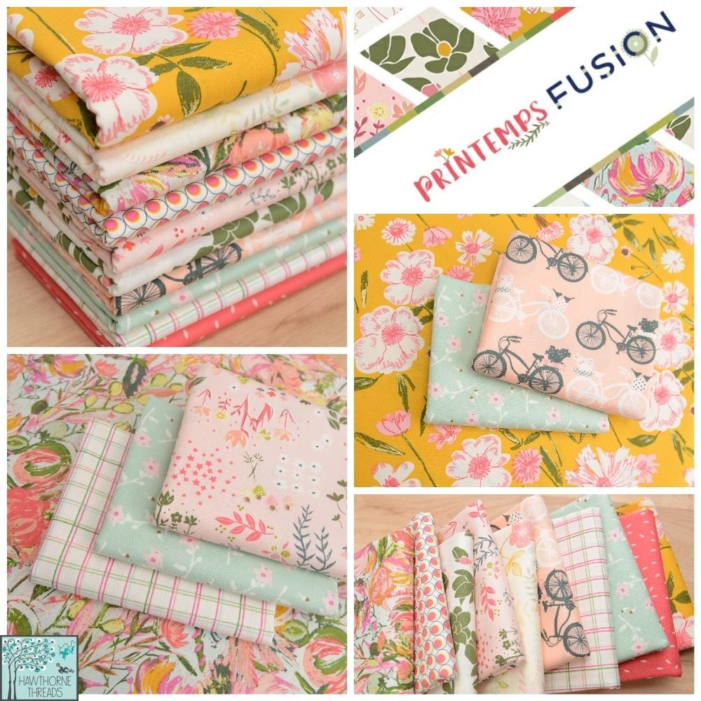 Printemps Fusion Fabric Poster