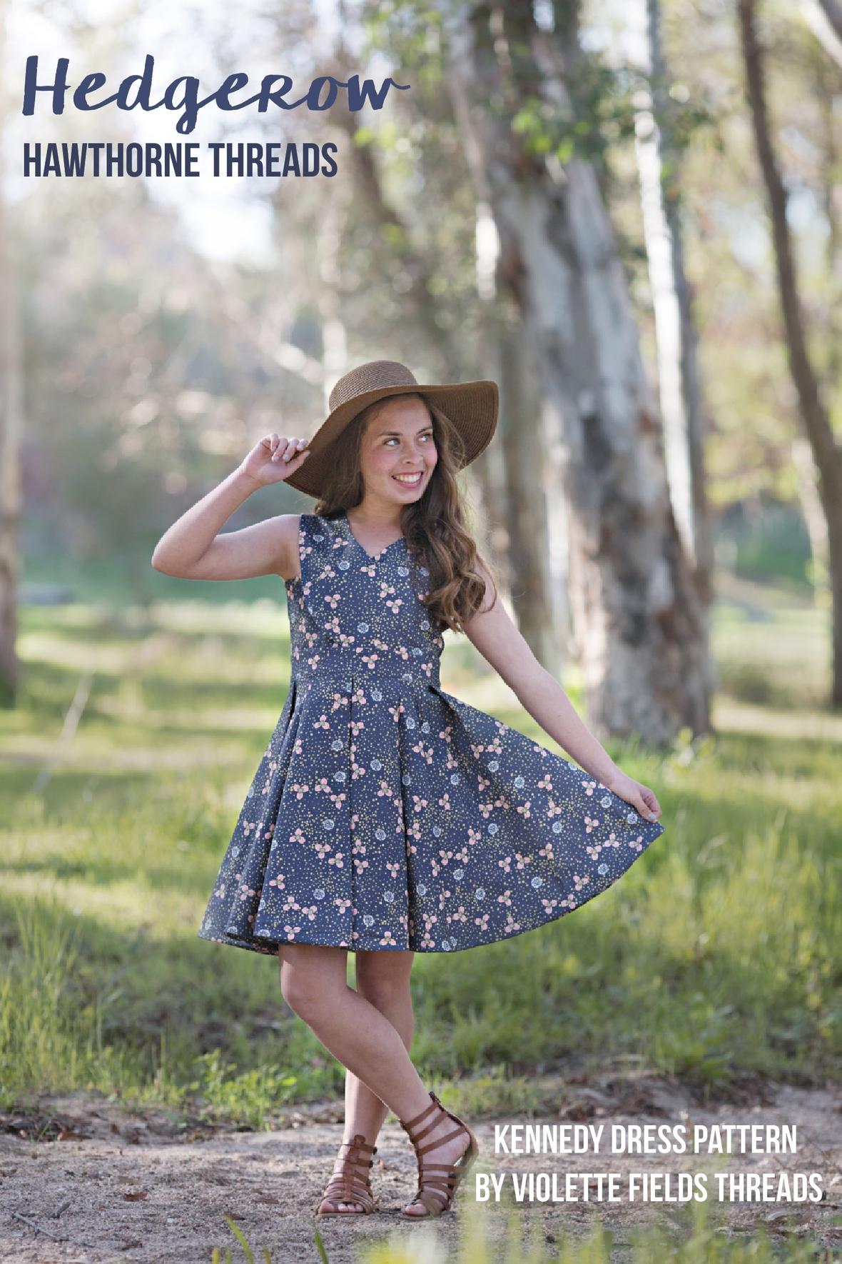 Hedgerow Fabric Kennedy Dress