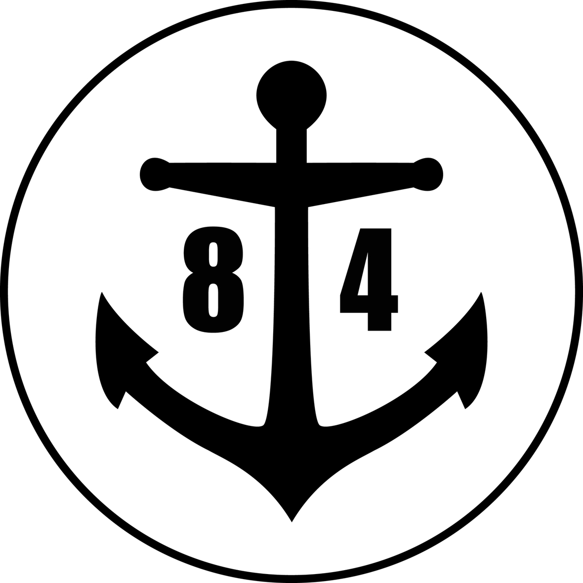 anchor eighty four records logo