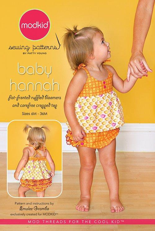 patty young baby hannah sewing pattern