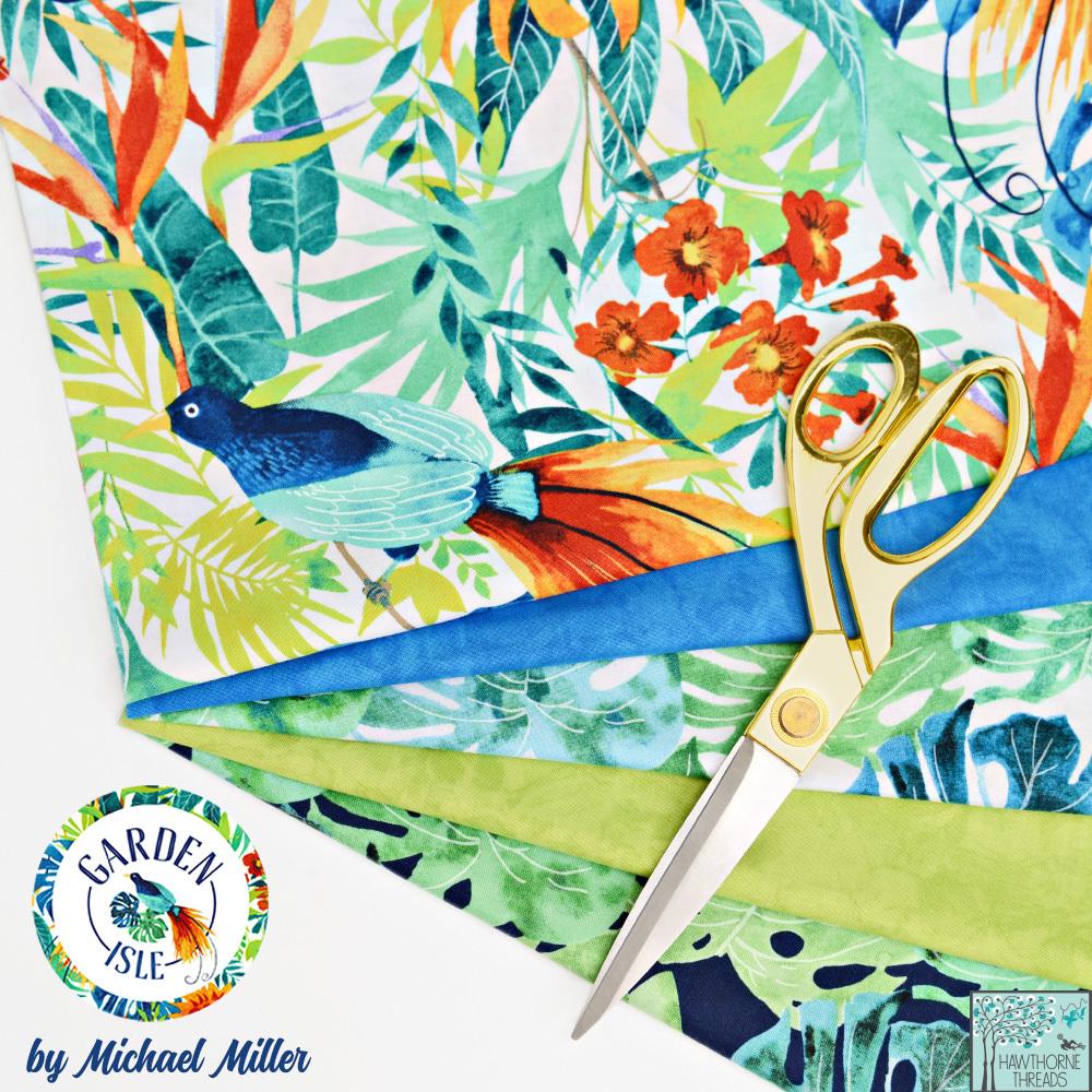 Garden Isle Fabric Poster