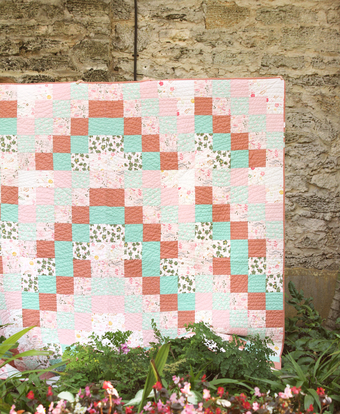 agf studio worlds apart quilt kit sewing pattern