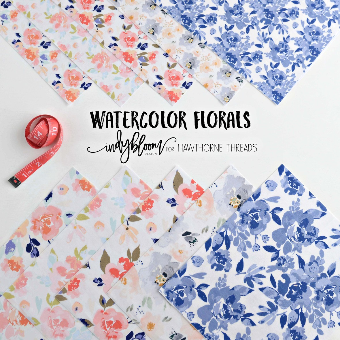 New Watercolor Florals Indy Bloom April with logo b