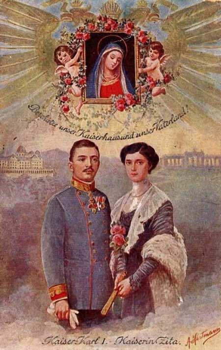 Beato Emperador Carlos y Emperatriz Zita 01 01b