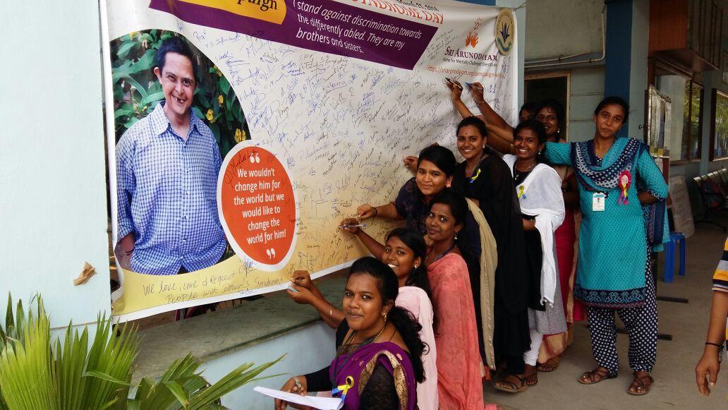 Sri Arunodayam WDSD Campaign 2