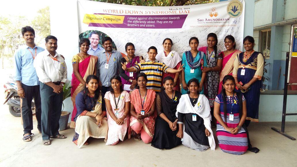Sri Arunodayam WDSD Campaign 1