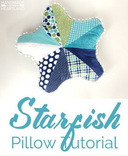 handmadeintheheartland-starfish pillow tutorial