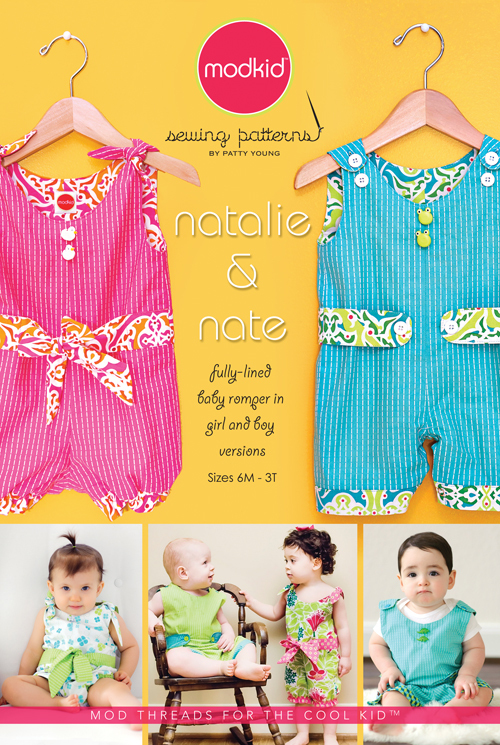 patty young natalie and nate romper sewing pattern