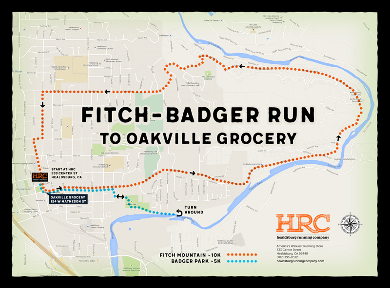 badger fitch oakville map