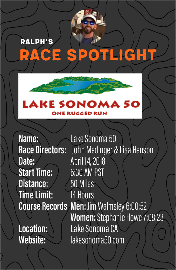 ralph race spotlight lake sonoma