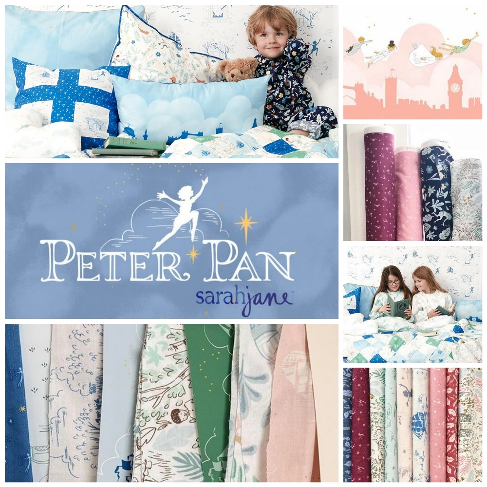 Peter Pan Fabric Sarah Jane