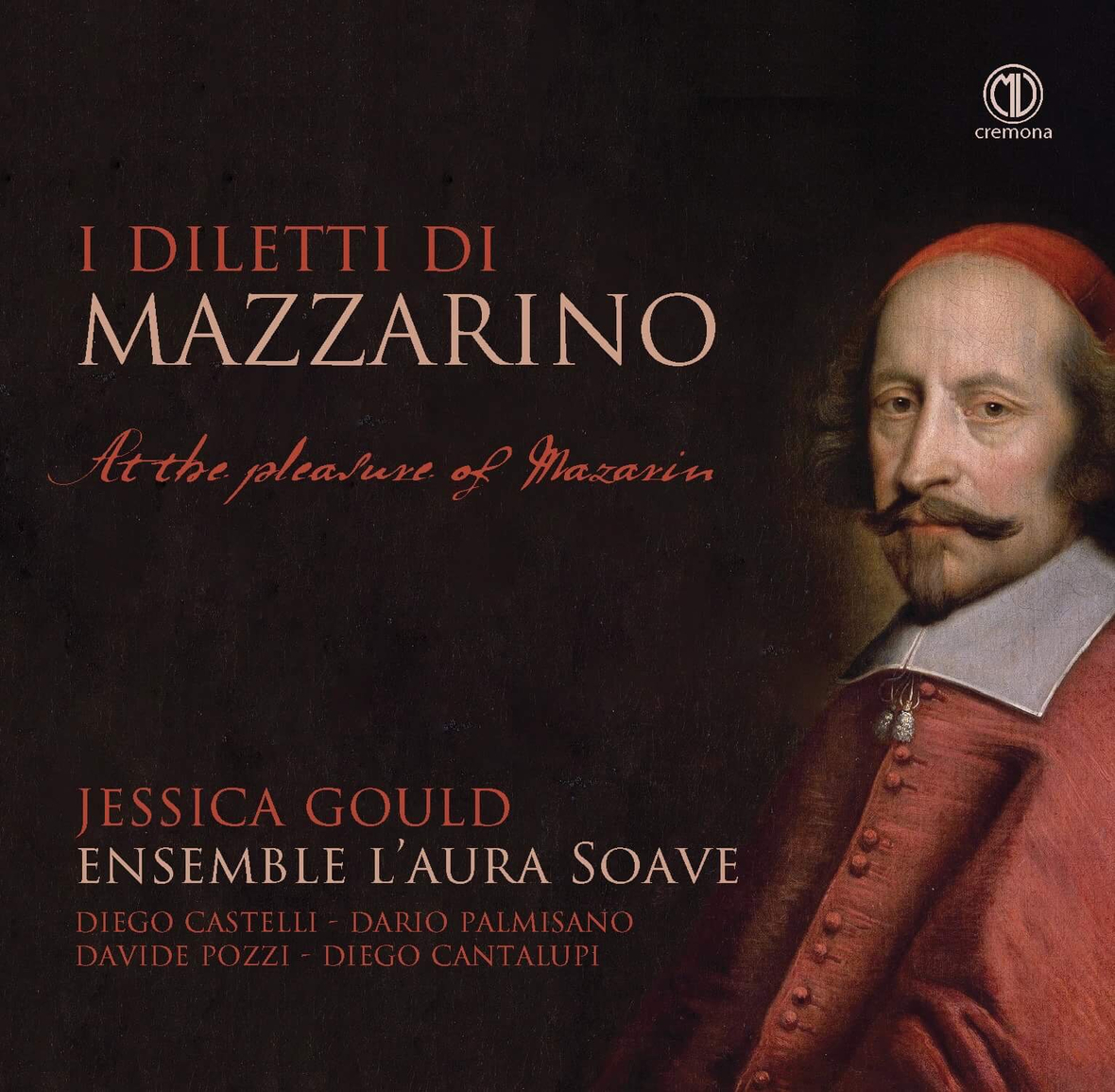 At the Pleasure of Mazzarin CD Cover