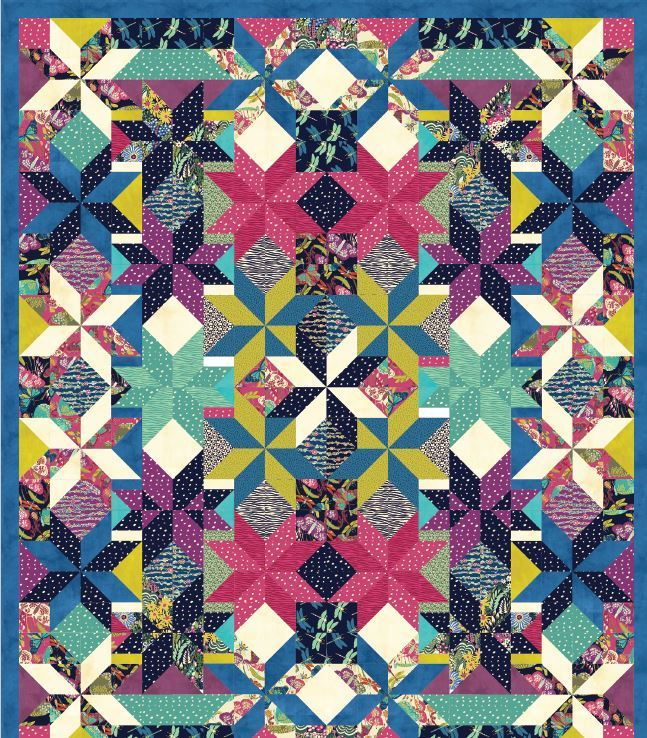 Windham- Free quilt pattern- Lets Dance