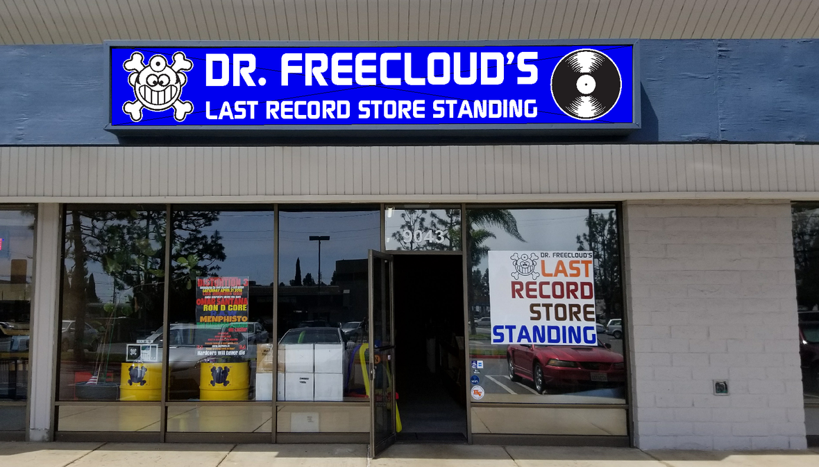Dr. Freecloud s Front Sign