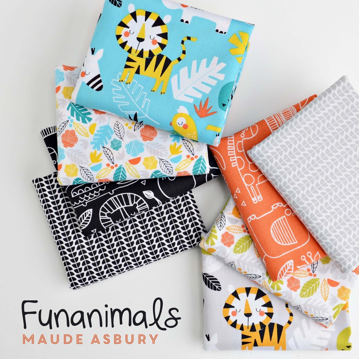 Funanimals Fabric Poster