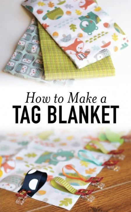 acraftedpassion- free tag blanket tutorial