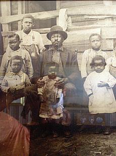 great grandfather and family