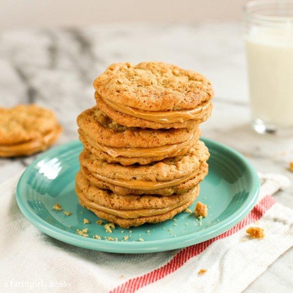 Buttery-Peanut-Butter-Sandwich-Cookies AFarmgirlsDabbles AFD-5
