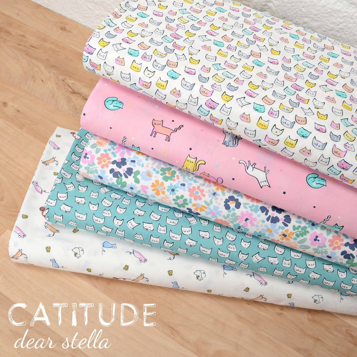 Catitude Fabric Poster