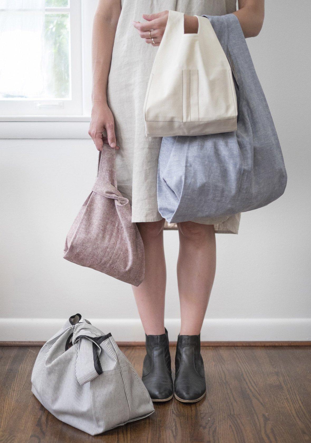 grainline studio  stowe bag sewing pattern