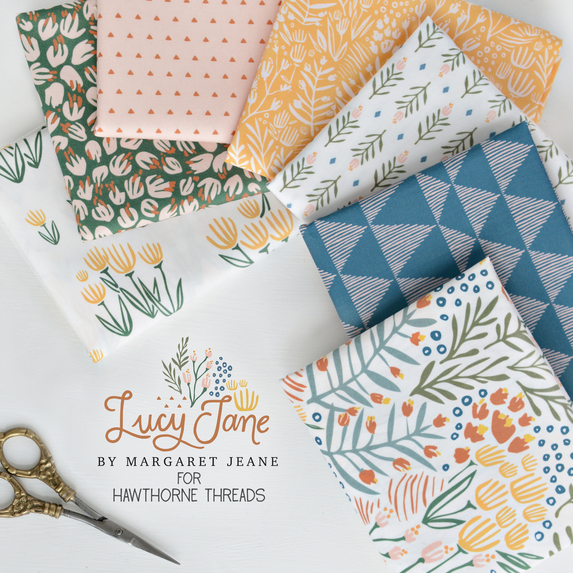 Lucy Jane Fabric Poster 2