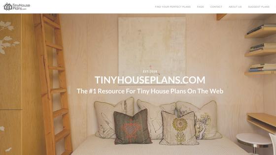 TinyHousePlans.com Newsletter Image