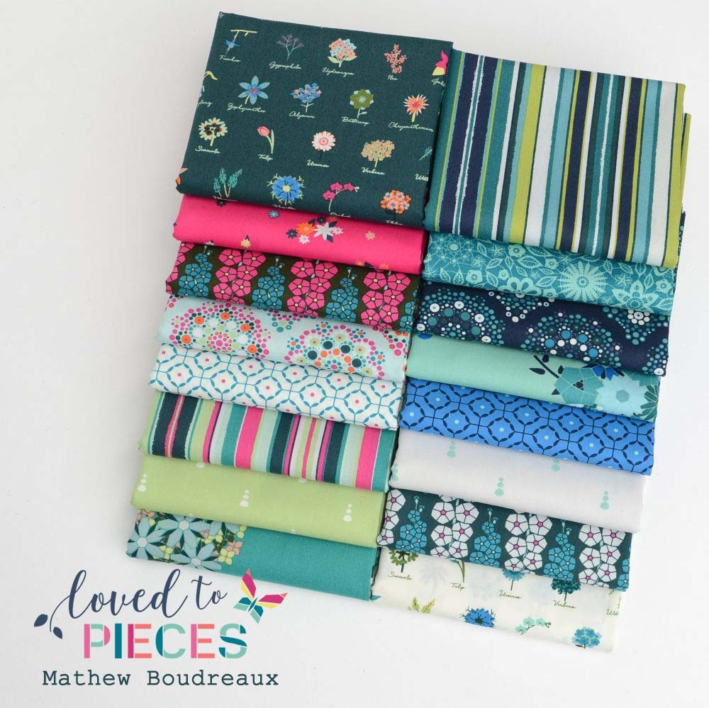 Loved to Pieces Art Gallery Fabric Poster by Hawthorne Threads