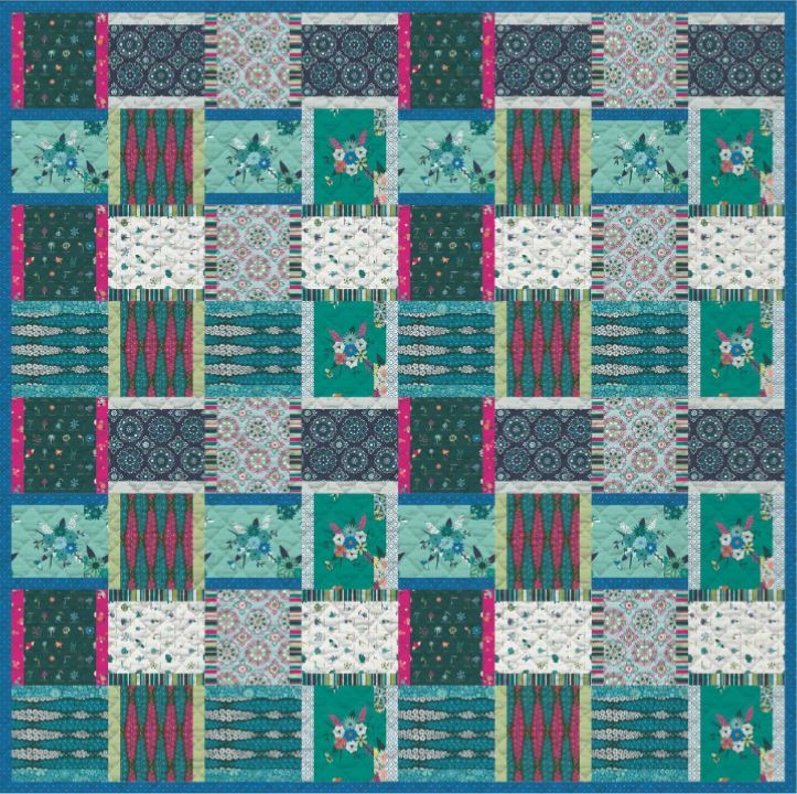 art gallery- free quilt pattern