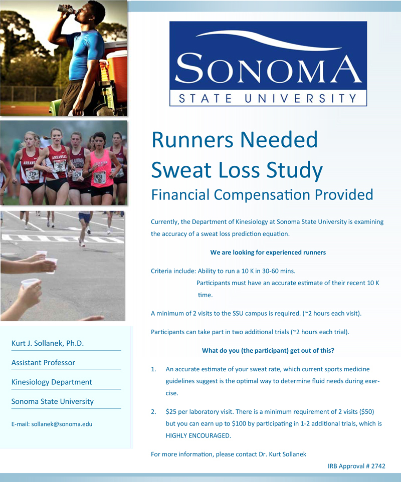Flyer Sweat-Loss-Study