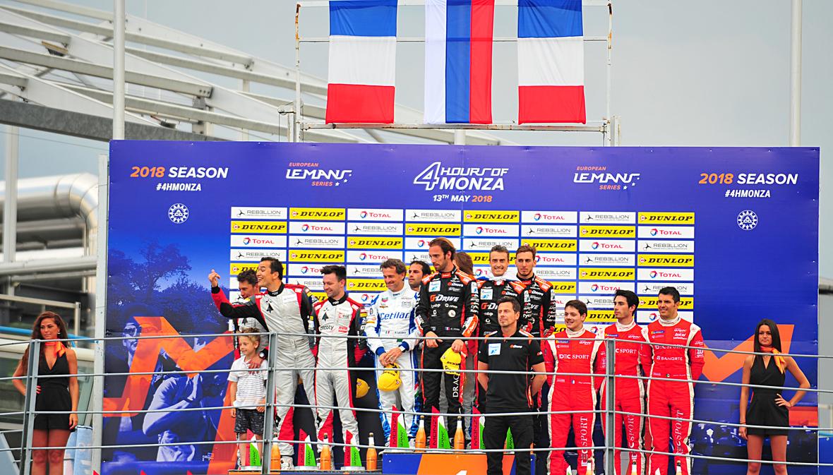 Podium Monza ERDA 3031
