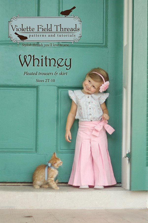 violette field threads whitney trousers and skirt sewing pattern