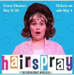 Hairspray Square ad