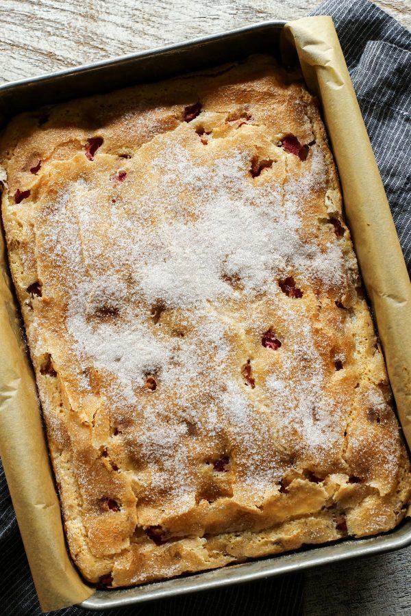rhubarb-sour-cream-coffee-cake AFarmgirlsDabbles AFD-4-600x900