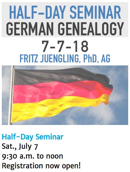German Seminar 2018