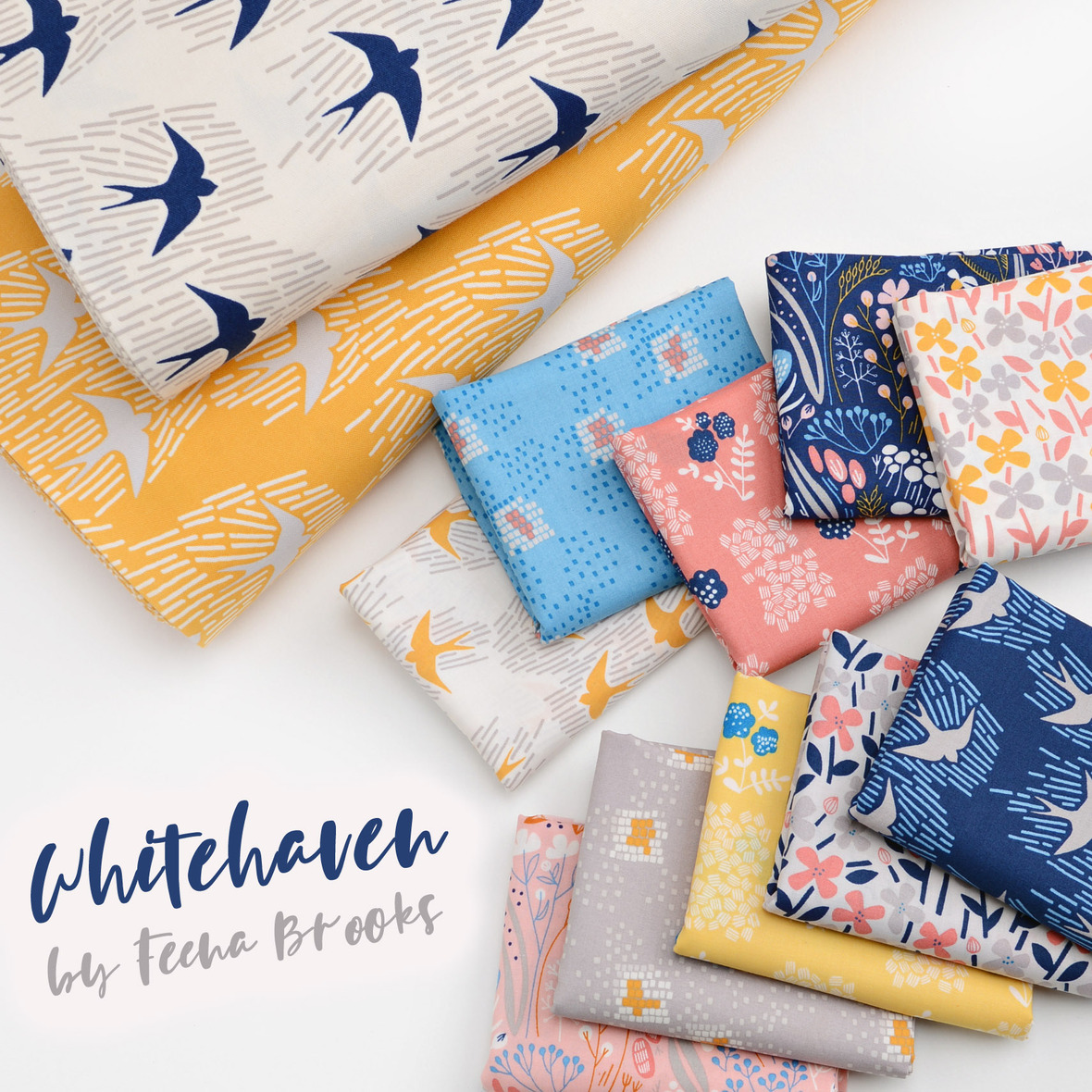 Whitehaven fabric poster