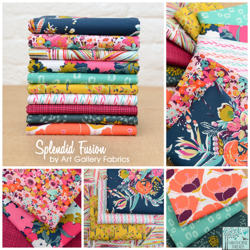 Splendid Fusion Fabric Poster