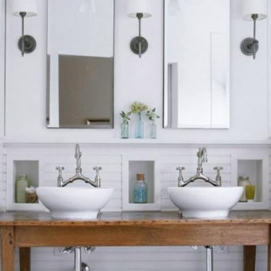 Get This Look Neutral Modern Farmhouse Bathroom