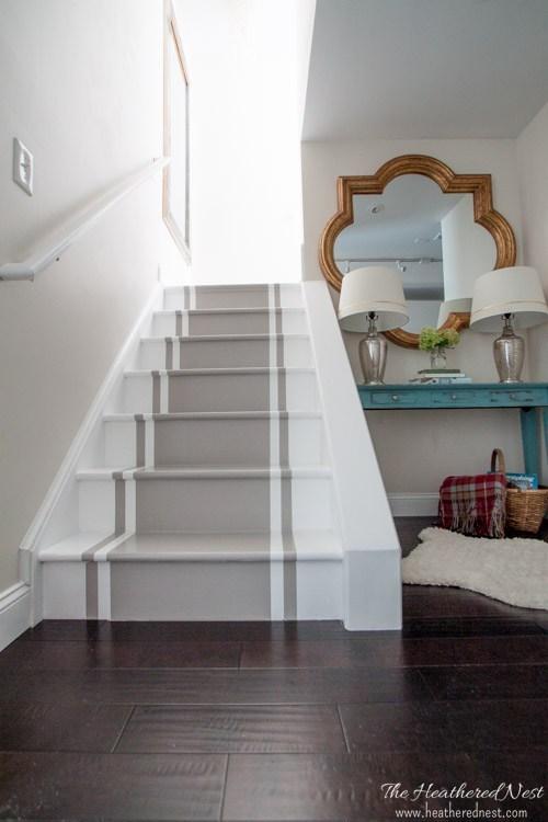 Painted-Stairs-via-Heathered-Nest