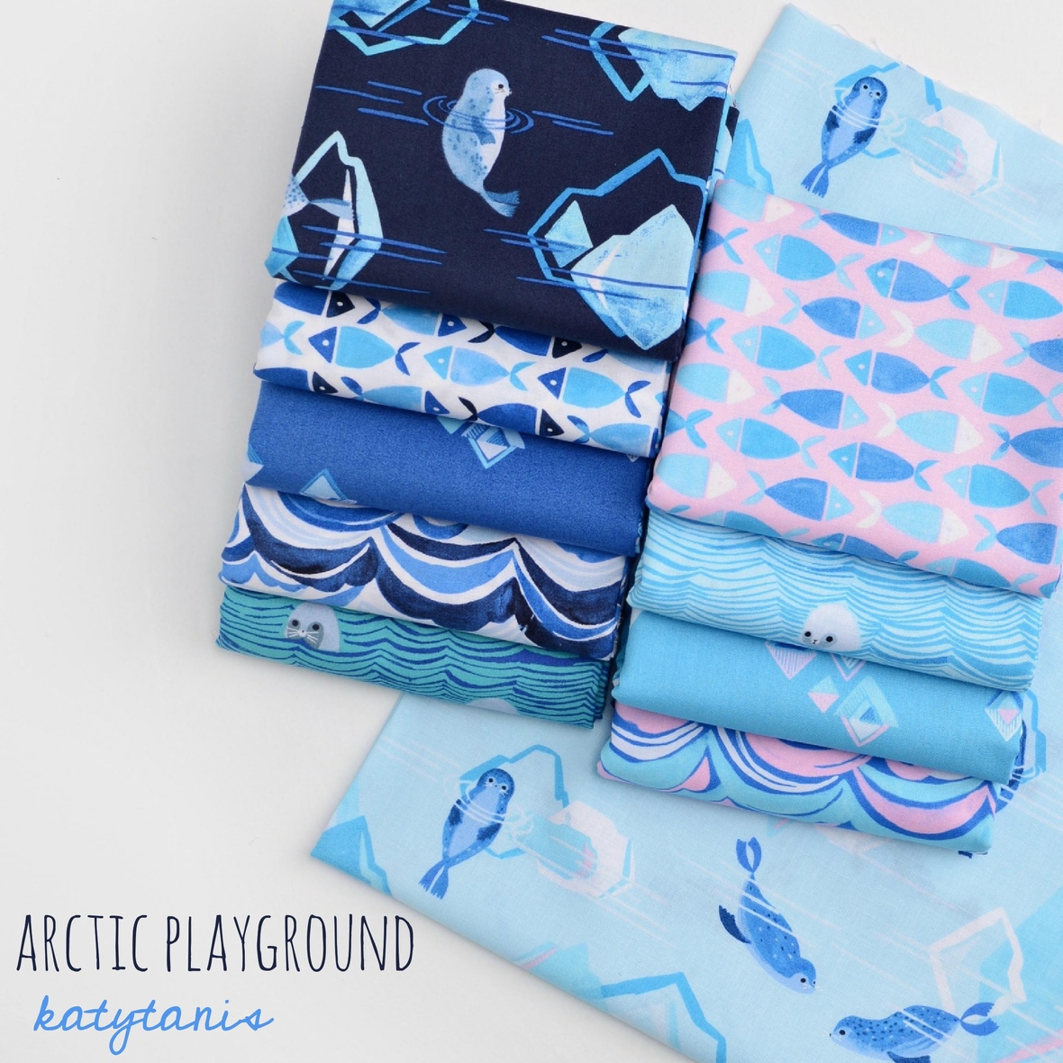 Arctic Playground Fabric Poster Fotor
