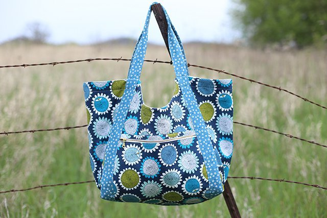 noodlehead poolside tote sewing pattern