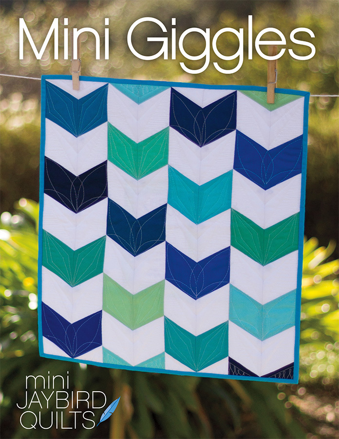 jaybird quilts  mini giggles sewing pattern